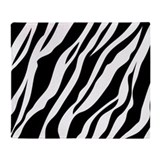 Throw blanket zebra Fleece Blankets