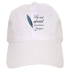 Shakespeare Greatness Quote Baseball Cap