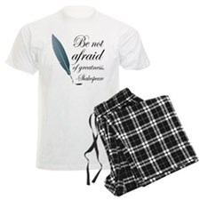Shakespeare Greatness Quote Pajamas