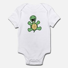 Skuzzo Happy Turtle Infant Bodysuit
