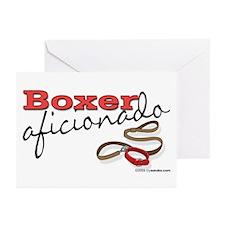 Boxer Aficionado Greeting Cards (Pk of 10)