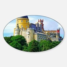 Pena Palace  Sticker (Oval)