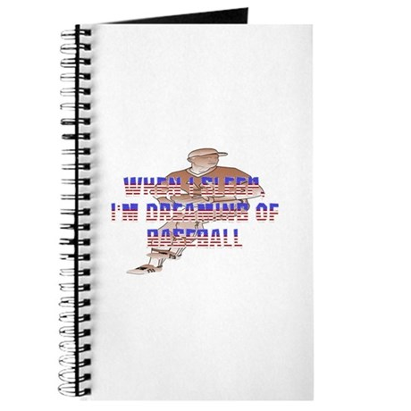 TOP Baseball Dreams Journal