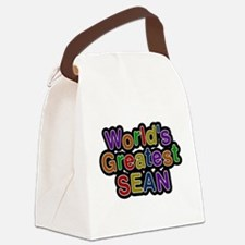 Worlds Greatest Sean Canvas Lunch Bag