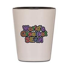 Worlds Greatest Sean Shot Glass