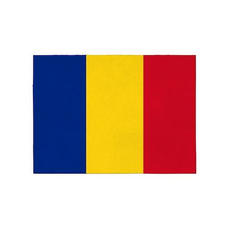 Romanian Flag 5'x7'Area Rug