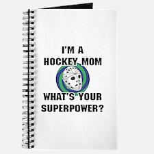 Hockey Mom Superhero Journal