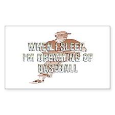 TOP Baseball Dreams Decal
