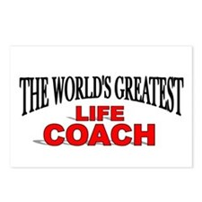 """The World's Greatest Life Coach"" Postcards (Packa"