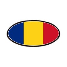 Romanian Flag Patches