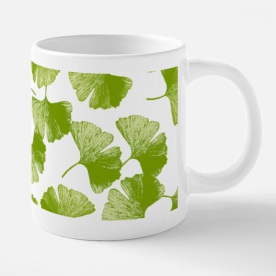 ginkgo_y.png 20 oz Ceramic Mega Mug