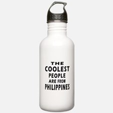 The Coolest Philippines Designs Water Bottle