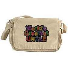 Worlds Greatest Uncle Messenger Bag