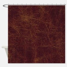 Wild West Leather 1 Shower Curtain