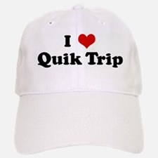 I Love Quik Trip Baseball Baseball Cap