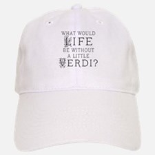 Verdi Music Quote Baseball Baseball Cap
