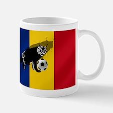 Romanian Football Flag Mug