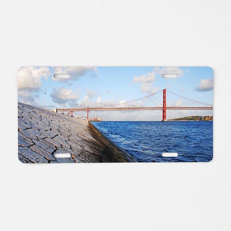 April 25th bridge Aluminum License Plate