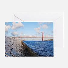April 25th bridge Greeting Card