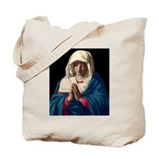 Virgin Mary in Prayer Tote Bag