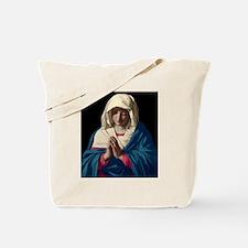 Virgin Mary in Prayer Tote Bag