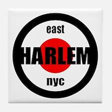 East Harlem NYC Logo Shirts & Tile Coaster