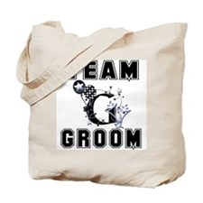 Celebrate Team Groom Tote Bag