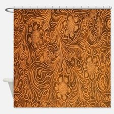 Wild West Texture 2 Shower Curtain