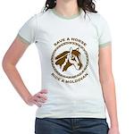 Ride A Moldovan Jr. Ringer T-Shirt