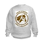Ride A Moldovan Kids Sweatshirt