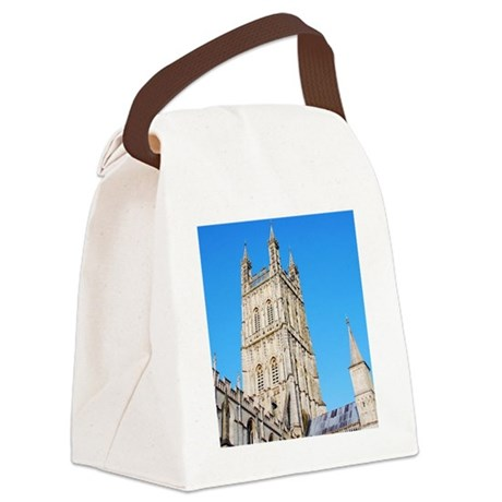 Gloucester Cathedral Canvas Lunch Bag