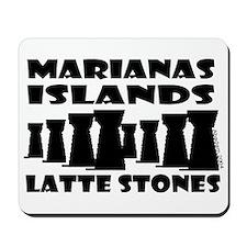 Marianas Islands Latte Stones Mousepad