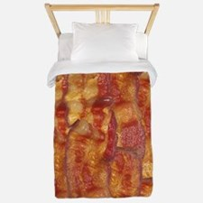Bacon Background Twin Duvet