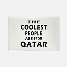The Coolest Qatar Designs Rectangle Magnet