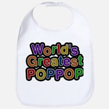 Worlds Greatest Poppop Bib
