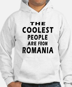 The Coolest Romania Designs Hoodie