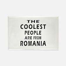 The Coolest Romania Designs Rectangle Magnet