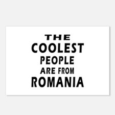 The Coolest Romania Designs Postcards (Package of