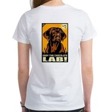 Obey the Chocolate Lab! Tee