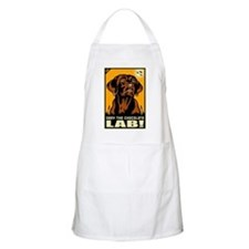 Obey the Chocolate Lab! BBQ Apron