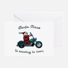 Santa Scoot Greeting Cards (Pk of 10)