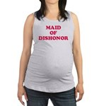 Maid of Dishonor Maternity Tank Top