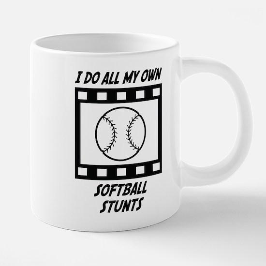 Softball Stunts Mugs