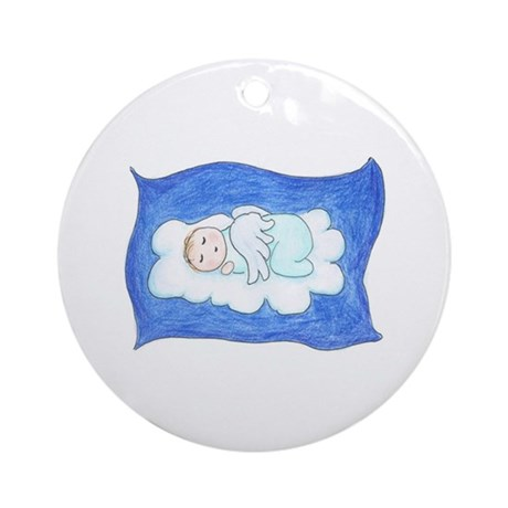 Angel Baby on Cloud Ornament