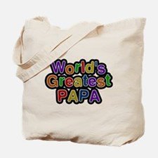 Worlds Greatest Papa Tote Bag