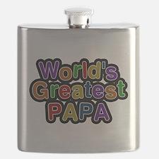 Worlds Greatest Papa Flask