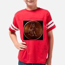 anubiscentblack1 Youth Football Shirt