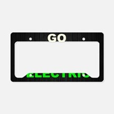 GREEN License Plate Holder