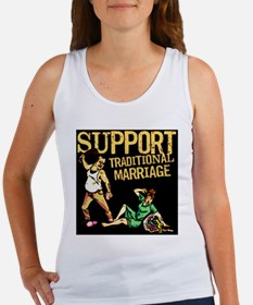 Support Traditional Marriage Tank Top