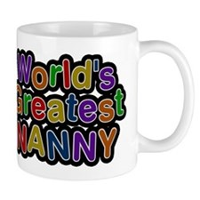 Worlds Greatest Nanny Mug